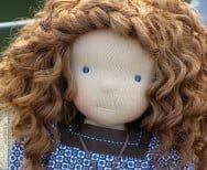 Klaudia - lalka szmaciana