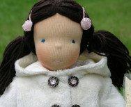 Andżelika - lalka szmaciana waldorfska