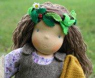 Marta - lalka szmaciana waldorfska