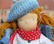 Lalinda lalka szmaciana waldorfska