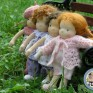 Malutkie laleczki szmaciane