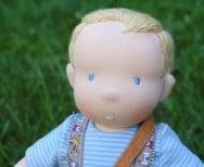 Lalka szmaciana chłopiec Lalinda